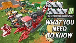 Farming Simulator 17 Platinum Edition | What You Need to Know