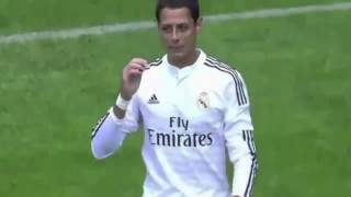"Primer Gol de Javier ""Chicharito"" Hernandez con Real Madrid - Deportivo La Coruña vs Real Madrid"