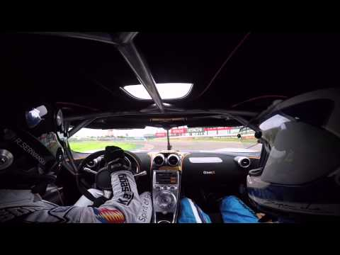 A 1340-hp Koenigsegg One:1 Rips Around Suzuka Circuit