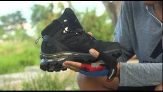 Salomon Comet 3D Unboxing, Review, Waterproof Test by Cute Adventure