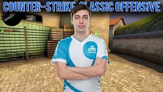 shroud plays mirage in Counter-Strike Classic Offensive