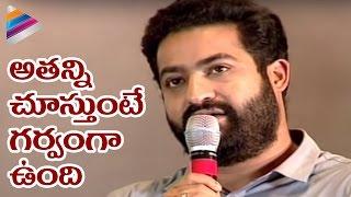 Jr NTR Gets Emotional about Rajiv Kanakala | Janatha Garage Movie Thanks Meet | Samantha | Nithya