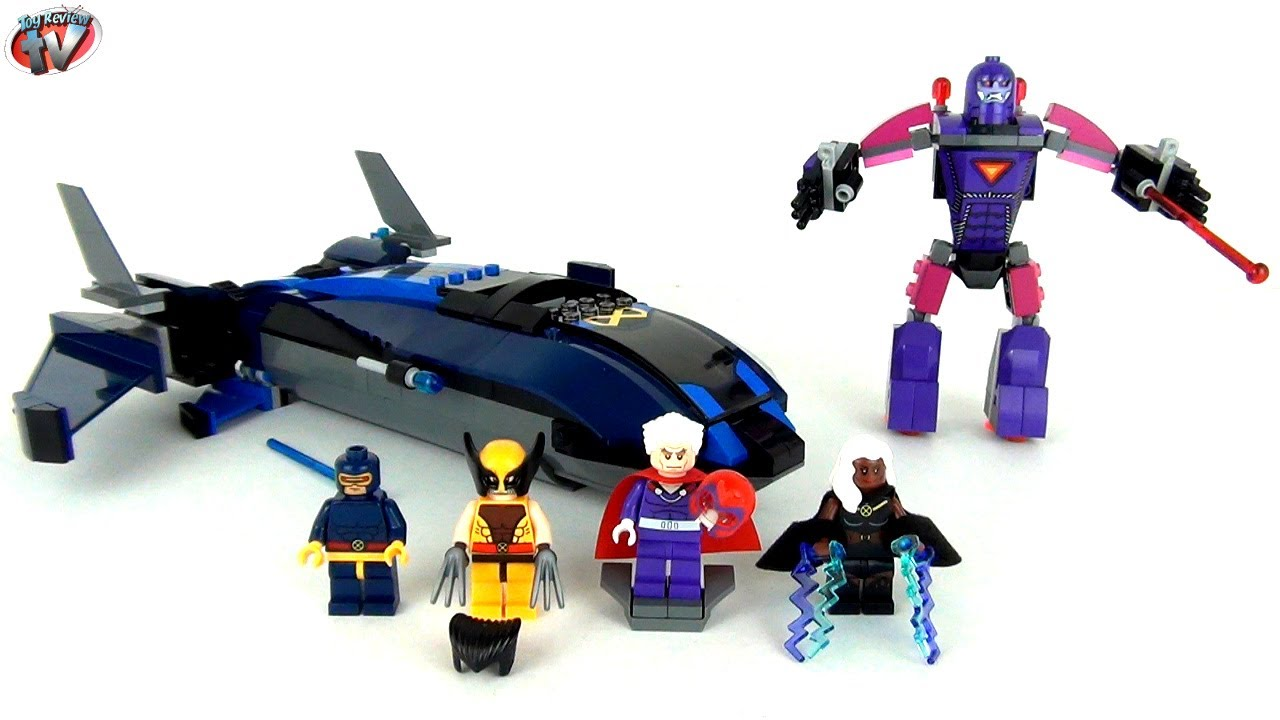 Lego Marvel Super Heroes X Men Vs The Sentinel 76022 Toy Review
