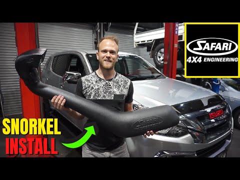 Isuzu MU-X/D-MAX Safari Snorkel Installation || How To Install A Snorkel