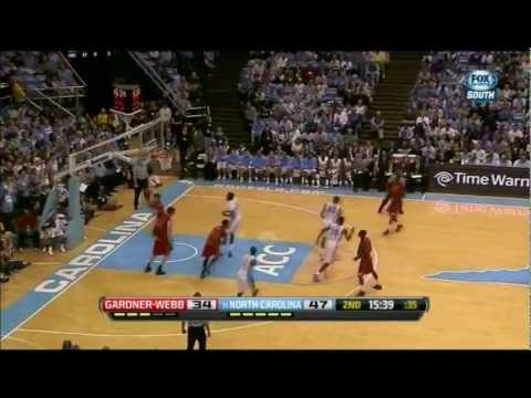 James Michael McAdoo vs Gardner-Webb (Full Highlights) [09.11.2012]