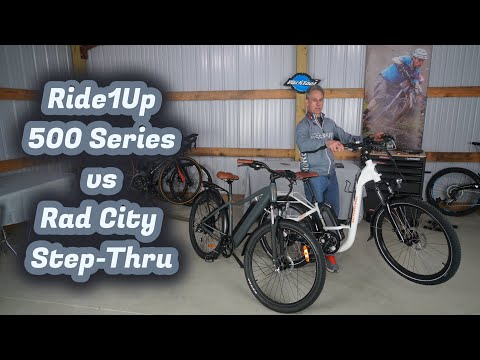 Ride1Up 500 Series Vs Rad City Step-thru