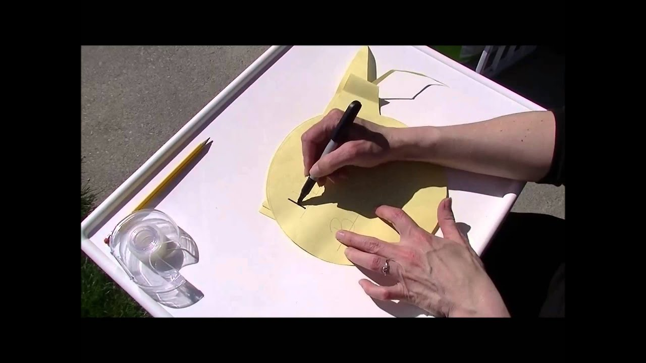 Practice Writing on Cakes! DIY Template - YouTube