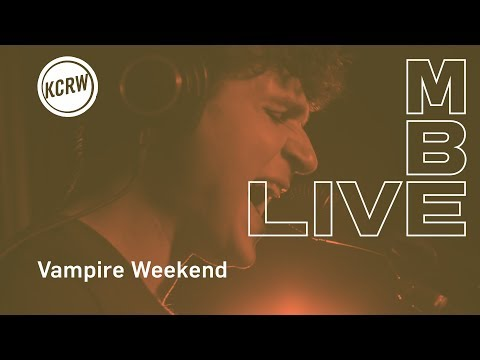 "Vampire Weekend performing Sunflower ""Stoneflower"" jam   on KCRW"