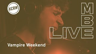 "Vampire Weekend performing Sunflower (""Stoneflower"" jam version) live on KCRW"