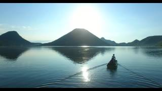 空の旅 榛名湖