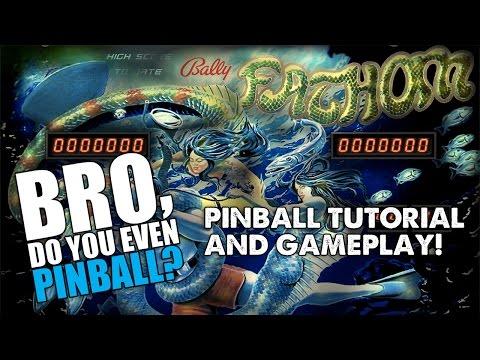 "Fathom pinball (Bally, 1980) 2/11/16 - ""Bro, do you even pinball?"""