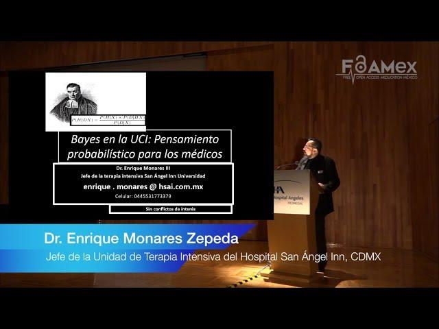 Pensamiento Probabilístico para los Médicos -  Dr. Enrique Monares Zepeda