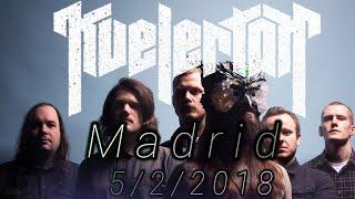 kvelertak - Madrid 5/2/2018 - teloneros Metallica