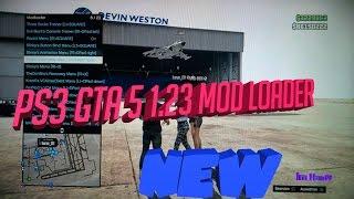 PS3 GTA 5 1.23 Online/Offline Mod Menu + Download