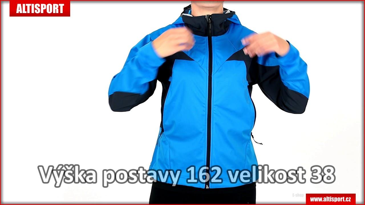 dámská sportovní bunda trimm ventura sea bluegrey - YouTube 8202da8e473