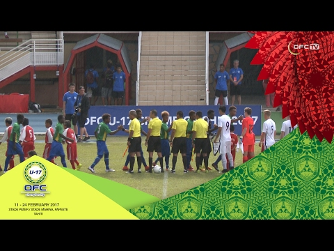 2017 OFC U-17 CHAMPIONSHIP | MD4 New Zealand v Solomon Islands Highlights