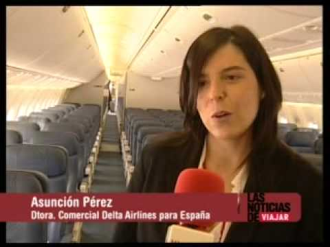 Delta Air Lines - Madrid - feature at CANAL VIAJAR