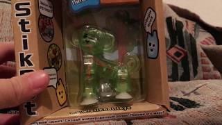 Огляд Іграшки Stikbot вихованці (мавпа)