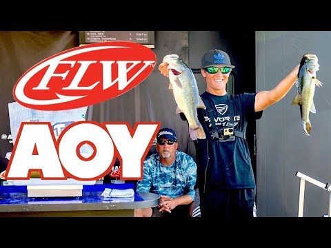I WON ANGLER OF THE YEAR!!!   4TH Potomac River FLW BFL Bass Tournament