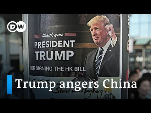 Chinese Government Reacts Furiously To US-Hong Kong Bill | DW News