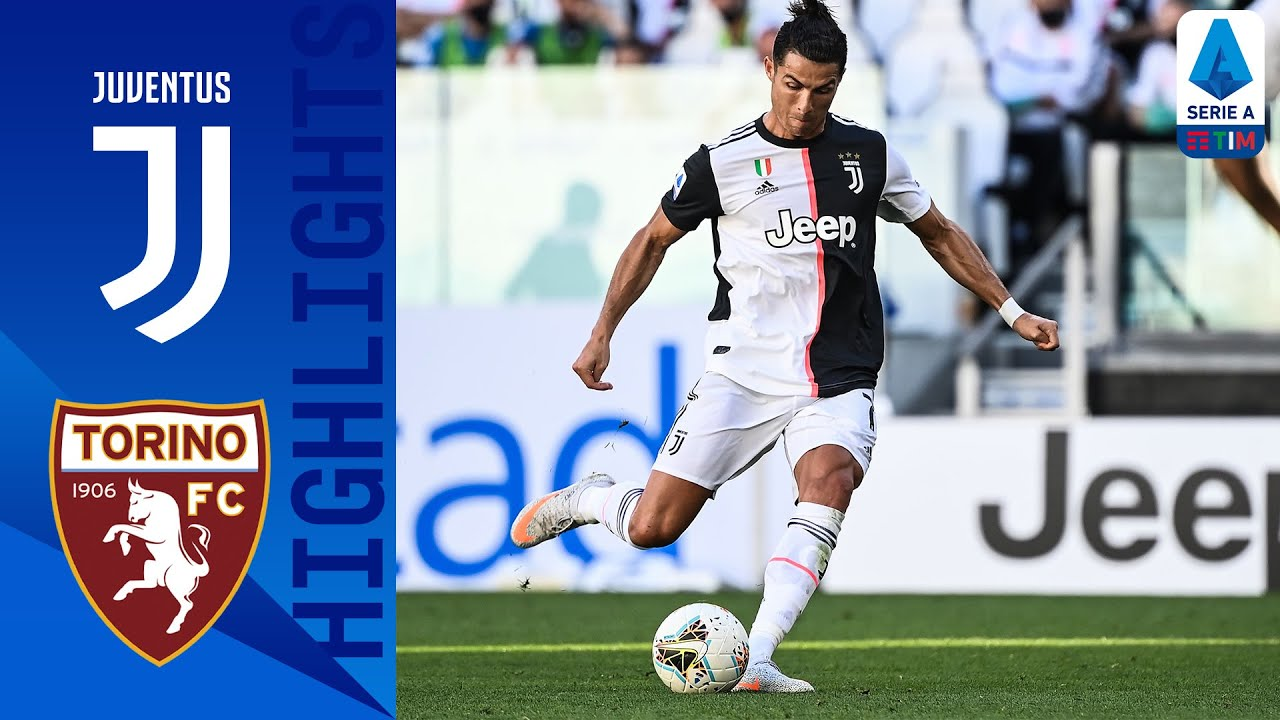 Ronaldo scores from free kick as Juventus beats Torino 4-1