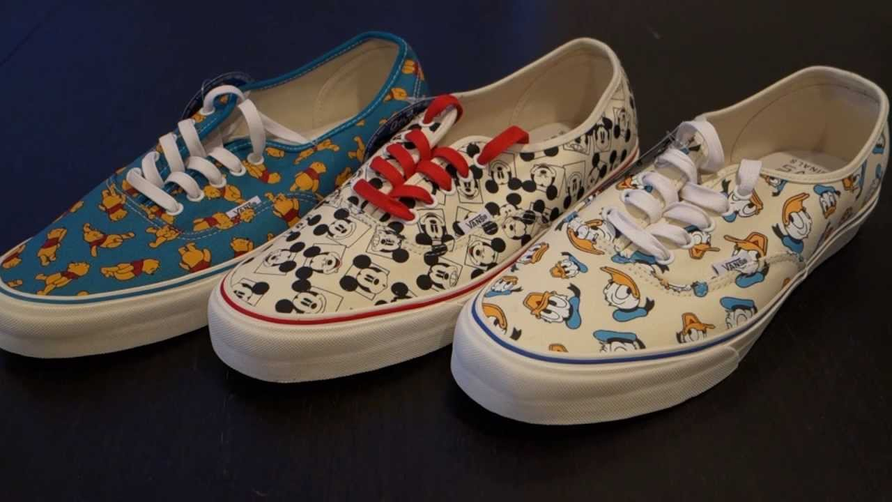 Disney Vans Shoes
