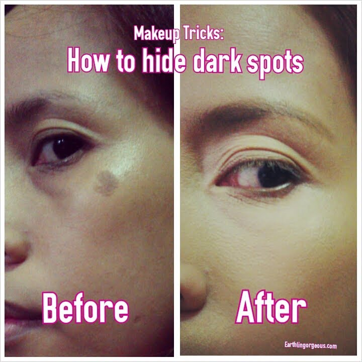 Makeup Tricks How to hide darks spot on the face