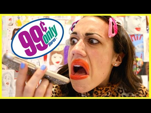 CALLING & YELLING AT 99 CENT STORE!