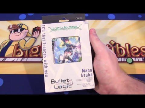 Luck & Logic Bullet Logic TD03 English Trial Deck Unboxing