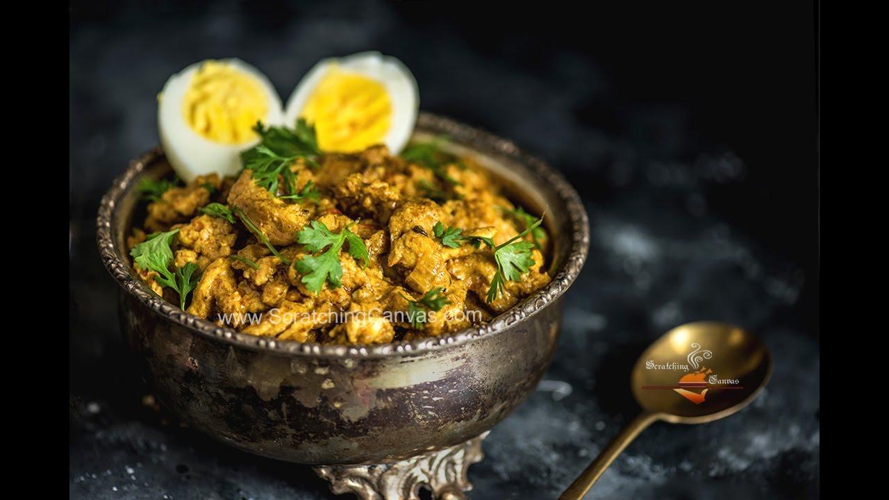 Chicken Bharta Kolkata Style Recipe চিকেন ভর্তা রেসিপি Bengali Chicken Bhorta Recipe Youtube