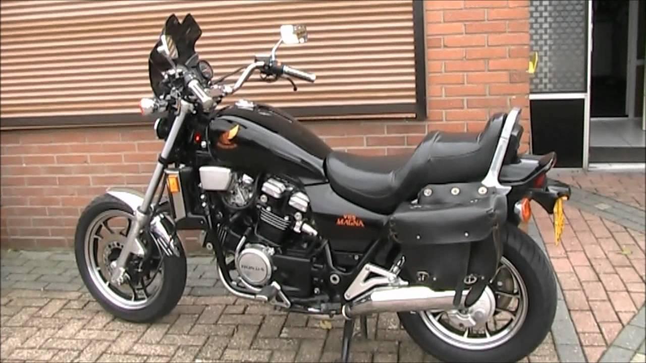 My Honda Magna V65 V4 (1100cc) 5 Speed & O.D.wmv - YouTube