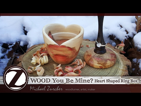 WOOD You Be Mine? Ring box : Making of