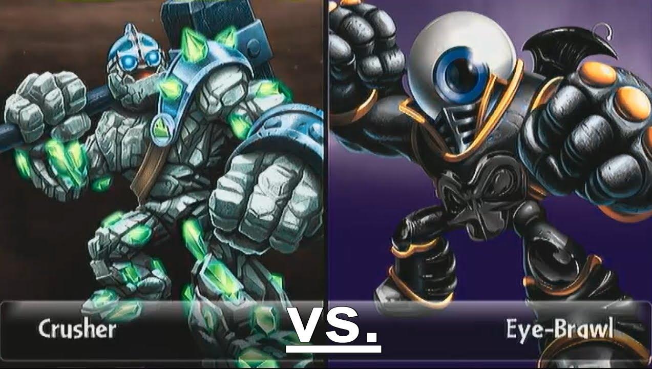 Crusher 12 vs eye brawl 13 let s play skylanders - Coloriage skylanders giants eye brawl ...