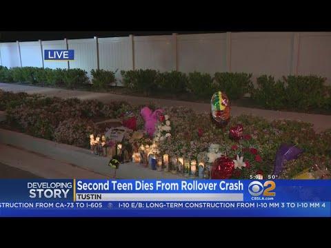 Second Teen Dies After Violent Tustin Wreck