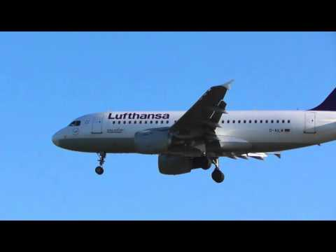 upload Lufthansa a319 dailm land over houses Heathrow 17Apr16 734a Frankfurt