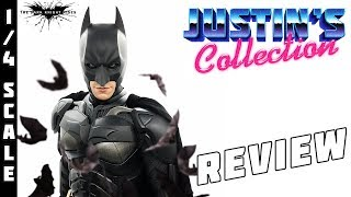 Hot Toys 1/4 The Dark Knight Rises Batman Review