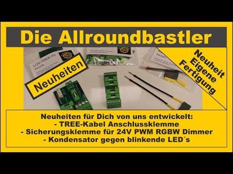 neuheiten:-anschlussklemme-für-das-loxone-tree-kabel,-sicherungsklemmen-für-24v-pwm-dimmer,....