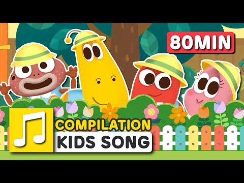 7 Days In A Week and other songs | 80 min | LARVA KIDS | Nursery Rhyme for kids