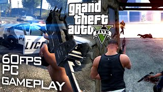 GTA V PC: First Rampage - 60fps Gameplay