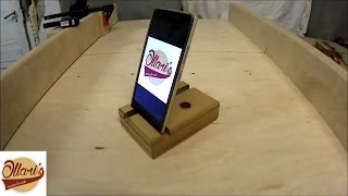DIY Phone and Tablet Stand