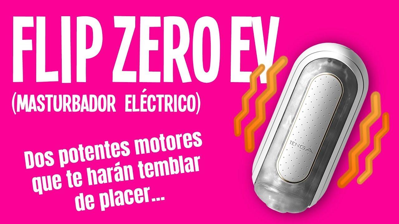TENGA FLIP ZERO EV 🍆✊💦 ~Masturbador eléctrico SUPER POTENTE~ | SEXUALIZADOS_AS