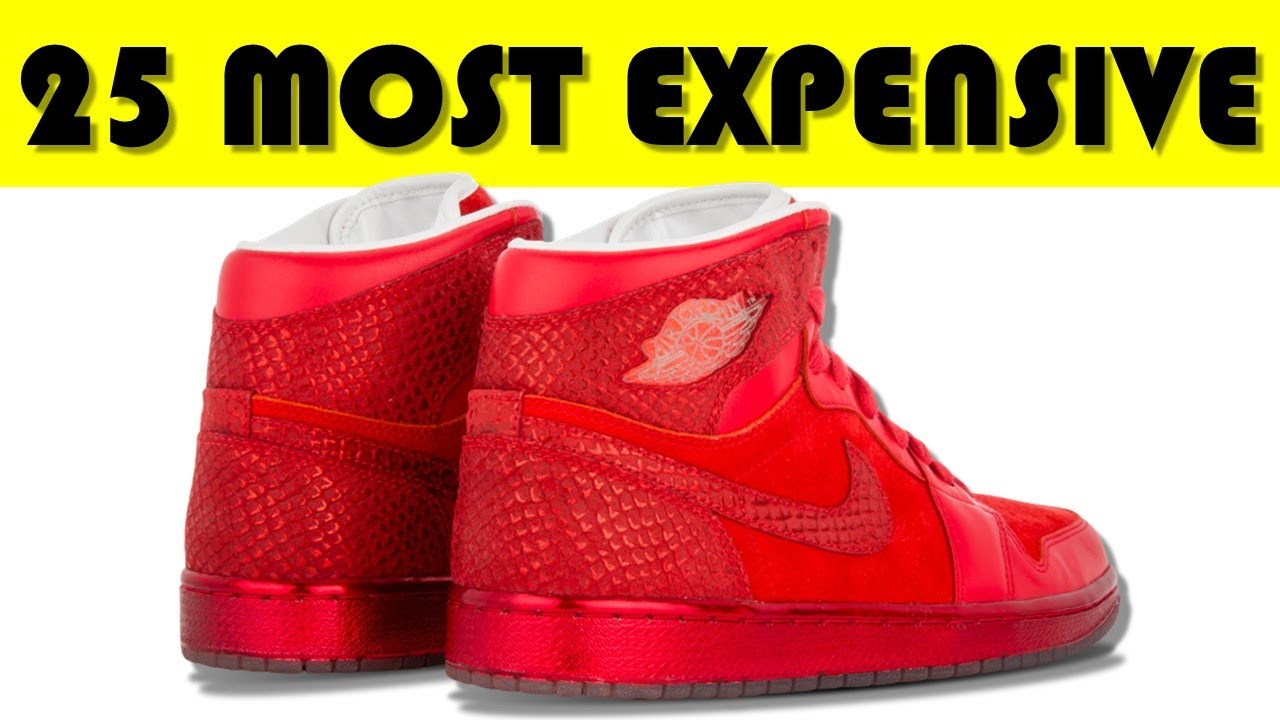most expensive shoes jordans