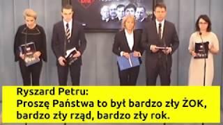 Ryszard Petru PROSZĘ PAŃSTWA TO BYŁ BARDZO ZŁY ŻOK wpadka śmieszne