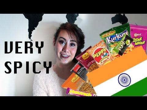 Dane trying Indian snacks | Taste the world #6