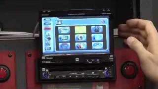 XDVDN8190N - DVD Multimedia Receiver w/ Built-In Navigation and Bluetooth Technology