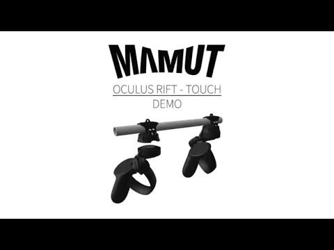 Mamut VR Magnetic Oculus Rift Touch Gun Stock Demo