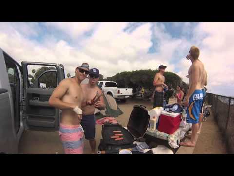 GoPro Hero 3: Beach Camping (Carlsbad, Ca)