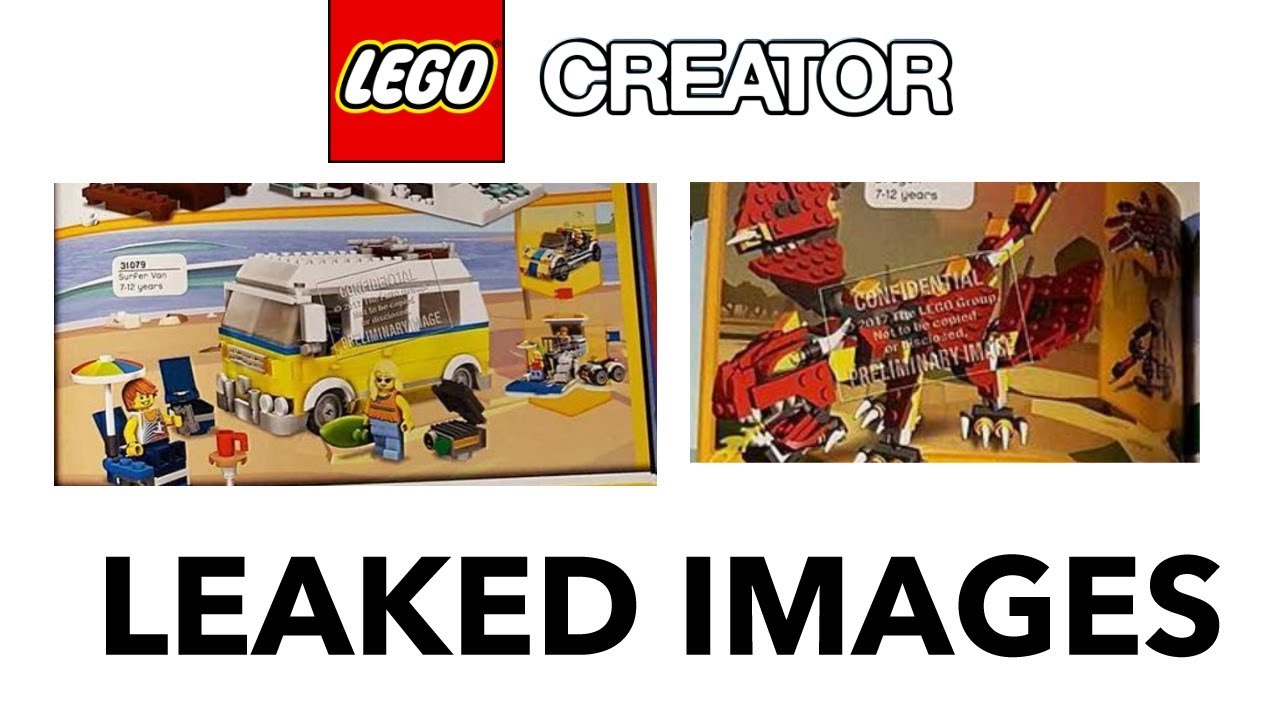 lego creator 2018 leaked sets real pictures youtube. Black Bedroom Furniture Sets. Home Design Ideas