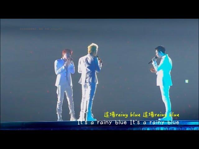 [繁中日文] JYJ - Rainy Blue(原唱:德永英明)in 2013 TOKYO DOME