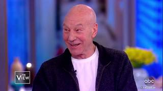 Patrick Stewart On New Movie 'The Kid Who Would Be King' | The View